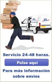 Servicio 24-48 horas.